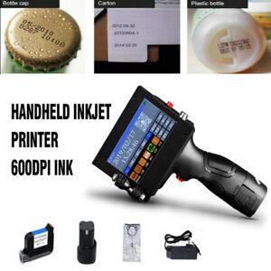 Handheld-Inkjet-Printer-600DPI-Ink-Date-Words-QR-Code-Barcode-Logo-Machines