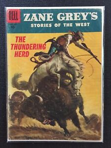 Zane-Grey-s-Stories-Of-The-West-31-1956-Dell-Comics-Combine-Shipping