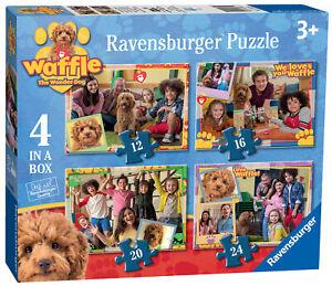 03035-Ravensburger-Gaufre-The-Wonder-Dog-4-in-environ-10-16-cm-une-Boite-de-puzzle-3-ans
