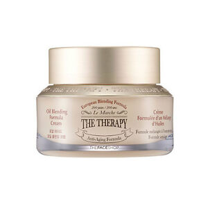 THE-FACE-SHOP-The-Therapy-Oil-Blending-Cream-50ml