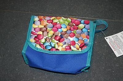 Kinderfahrrad - Tasche von Haberland - blau mit Motiv - farbenfrohe Kindertasche