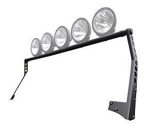 """Smittybilt XRC 50/"""" Windshield Light Bar Black for 07-17 Jeep Wrangler JK 76911"""