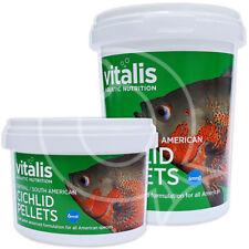 Era Vitalis Central South American Cichlid Pellets Fish Food 1 5mm 6mm For Sale Online Ebay