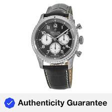 New Breitling Navitimer 8 Chronograph 43 Black Dial Men's Watch AB0117131B1P1