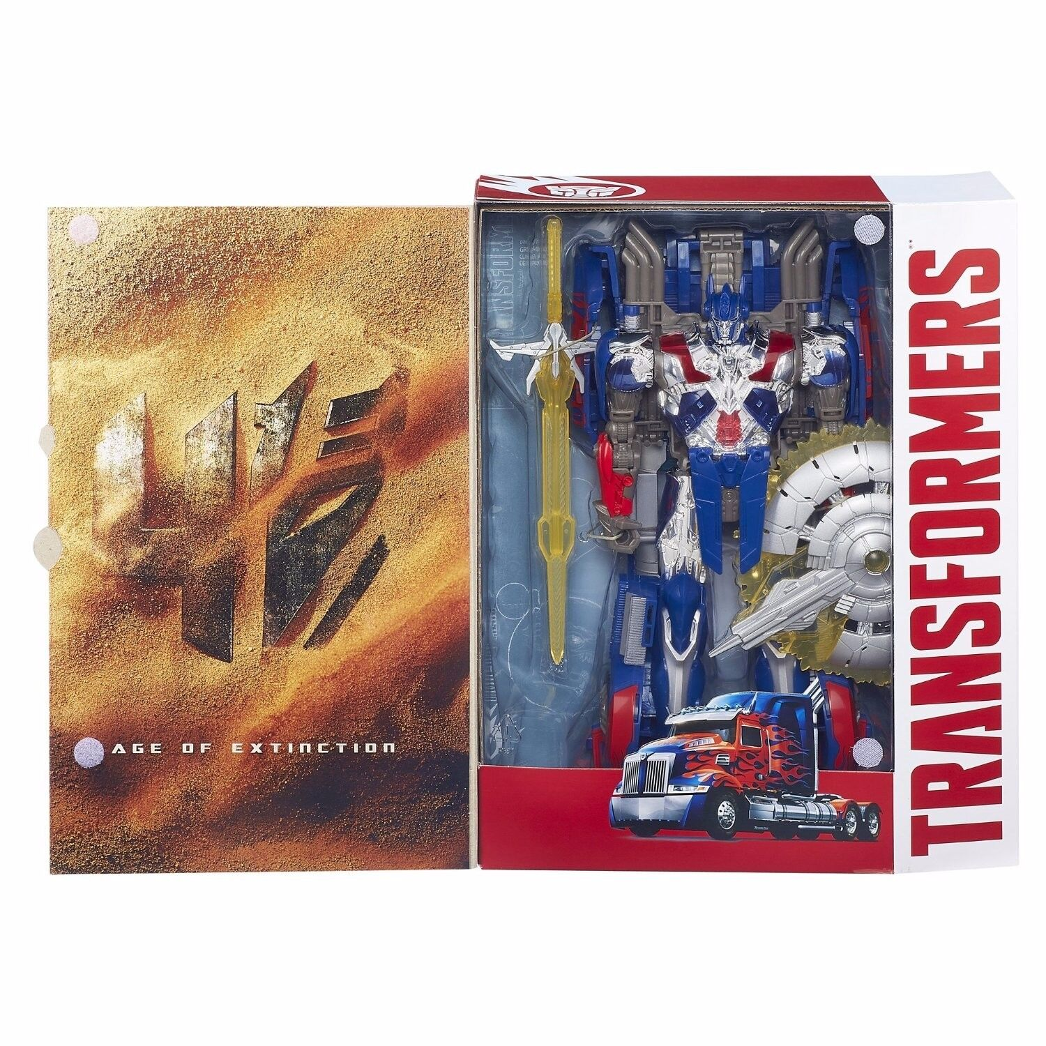HASBRO a6519 TRANSFORMERS 4 Age of Extinction OPTIMUS PRIME FIGURE NUOVO OVP