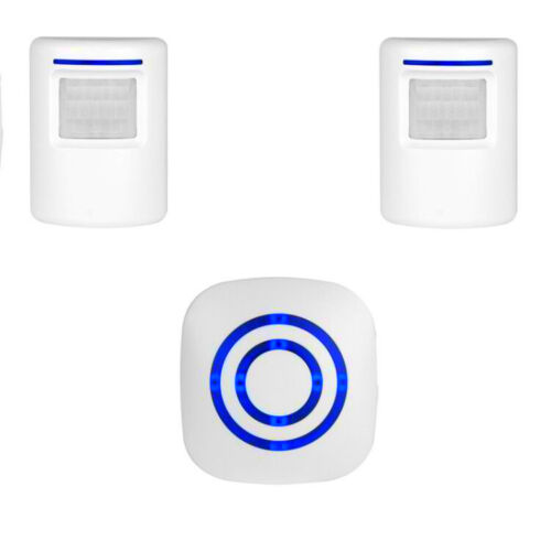 Wireless Doorbell PIR Motion Sensor Driveway 38 Chime Alarm Home Security Alert