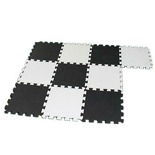 EVA Foam 2 in 1 Pack Kids Play Puzzle Mat //Interlocking Exercise Tiles Floor Mat