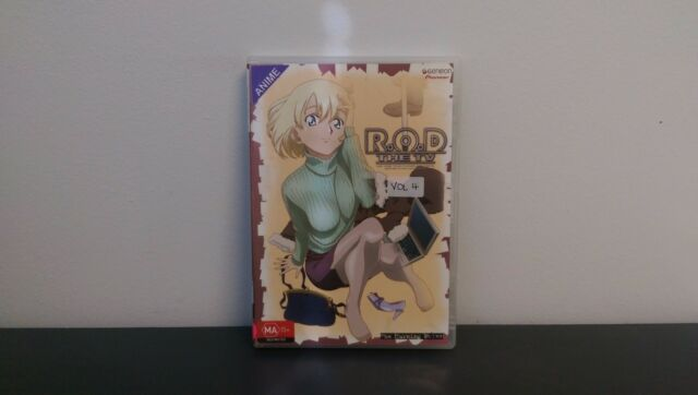 """R.O.D The TV - Vol 4: """"The Turning Point"""" - Anime DVD"""