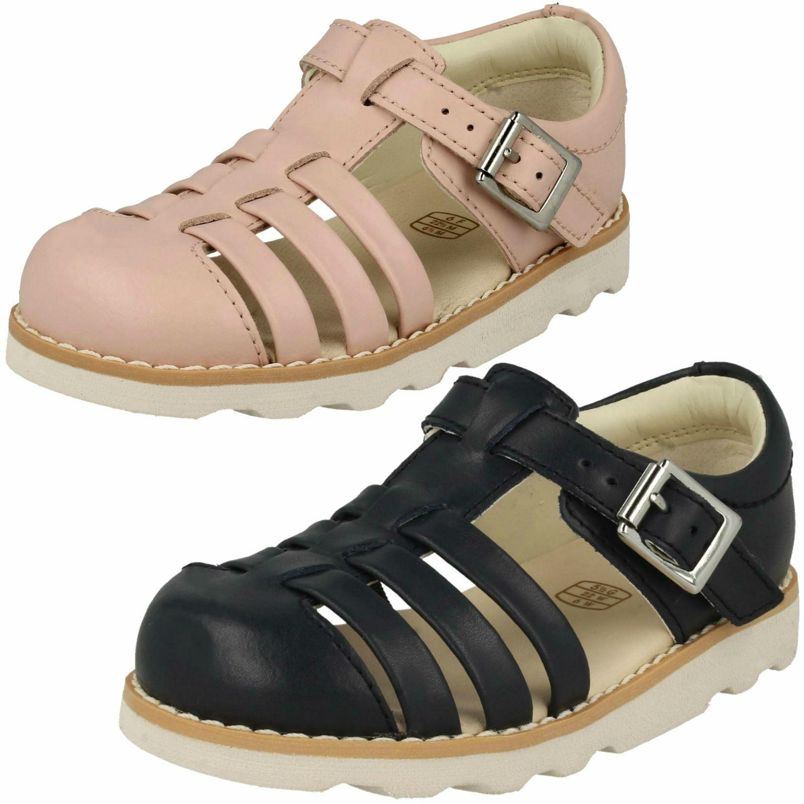 Girls Clarks Raspberry Pink Water Friendly Closed Toe Sandals UK 6-9.5 F NEW