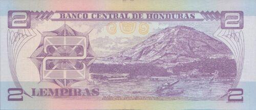 HONDURAS 2 LEMPIRAS 2014 P-97 UNC