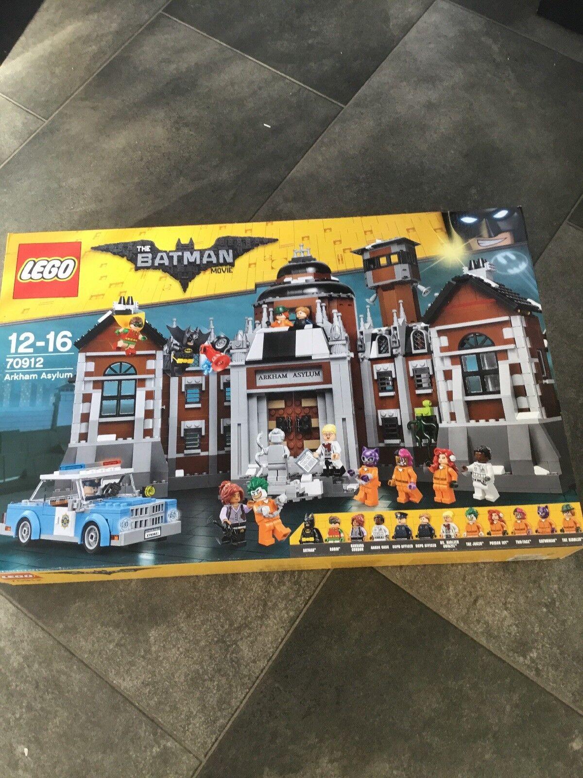 LEGO 70912 70912 70912 THE BATMAN MOVIE ARKHAM ASYLUM Retirot 89f522