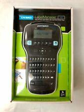 Dymo Labelmanager 160 D1 Label Maker One Touch Smart Keys Black New Sealed
