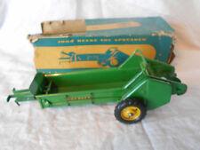 Pressed Steel 1955 Carter John Deere Model L Manure Spreader Long Levers w/Box