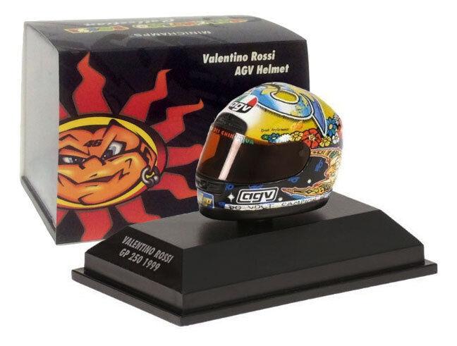 Minichamps Valentino Rossi Casco-GP 250 250 250 escala 1999 1 8 c315b9