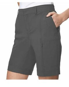 Size M 8-10 Realistic Nwt Degrees Ladies Woven Short W/ Stretch Black We Have Won Praise From Customers