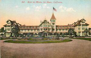 Image Is Loading California Ca Del Monte Hotel 1910