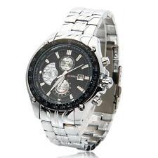 CURREN Men Fashion Calendar Waterproof Round Dial Digital Quartz Wrist Watch