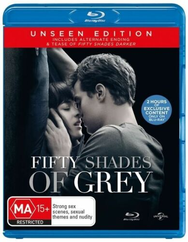 1 of 1 - Fifty Shades Of Grey (Blu-ray, 2015)