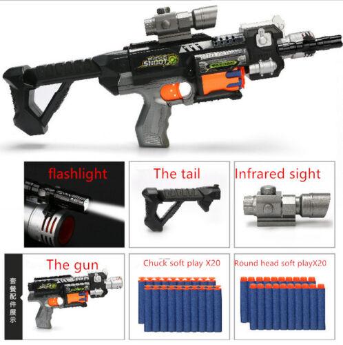 BRAND NEW Nerf Gun Strike Toy Darts Elite Blaster Gift For Children