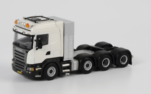 WSI 03-1061 1 50 Escala De Scania R Highline 8X4-blancoo