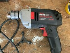 New Listingcraftsman 12 Electric Hammer Drill Corded 315101390