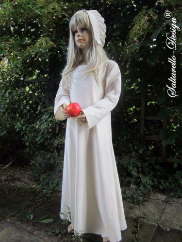 122-128 Mittelalter Gr Untergewand Kinder Kleid