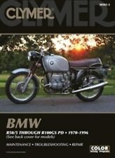 Clymer Repair Manual BMW R-Series R100 R90 R80 R75 R60 R50 GS PD /5/6/7 RT RS