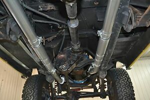 Early Bronco 66-77 Dual Exhaust for Hedman Headers with ...