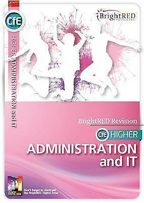 1 of 1 - BrightRED Study Guide CfE Higher Administration and it by William Reynolds,...