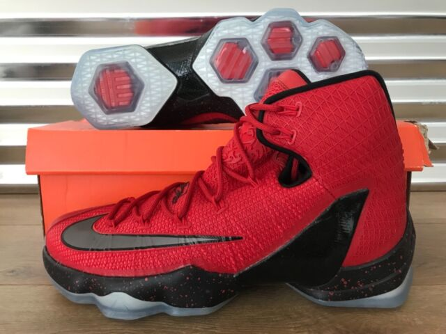 brand new 1f58a db885 Nike Lebron XIII 13 Elite Basketball Shoes University Red Black SZ  (831923-606)