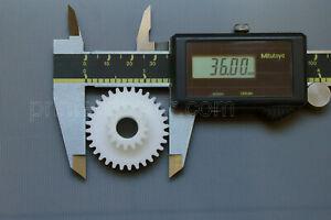 "Atlas 618 Craftsman 101 109 612 6"" METAL LATHE 16 32 tooth nylon compaund gear"