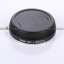 FOTGA LEICA M Objektiv Lens an Olympus Panasonic Micro 4/3 m4/3 Adapter EPL6 EM1