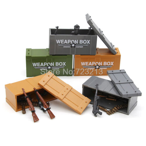 Please msg preferred color Single Weapon Box for Military Weapons Parts Set