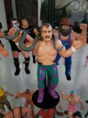WWE MATTEL ELITE DAMIEN SNAKE ACCESSORY WRESTLING FIGURES JAKE ROBERTS WWF THE
