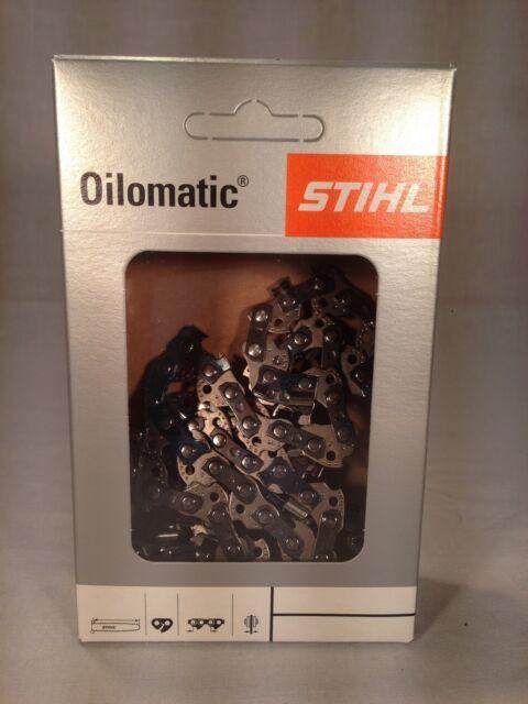"GENUINE STIHL 63PM3 CHAINSAW CHAIN BLADE FOR STIHL MS200 14/"" 1.3mm 3//8/"" .050/"""