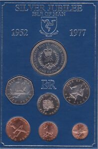 ISLE OF MAN 6 DIFFERENT UNCIRCULATED SET
