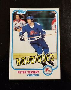 1981-82 Topps Hockey #39 Peter Stastny RC Quebec Nordiques