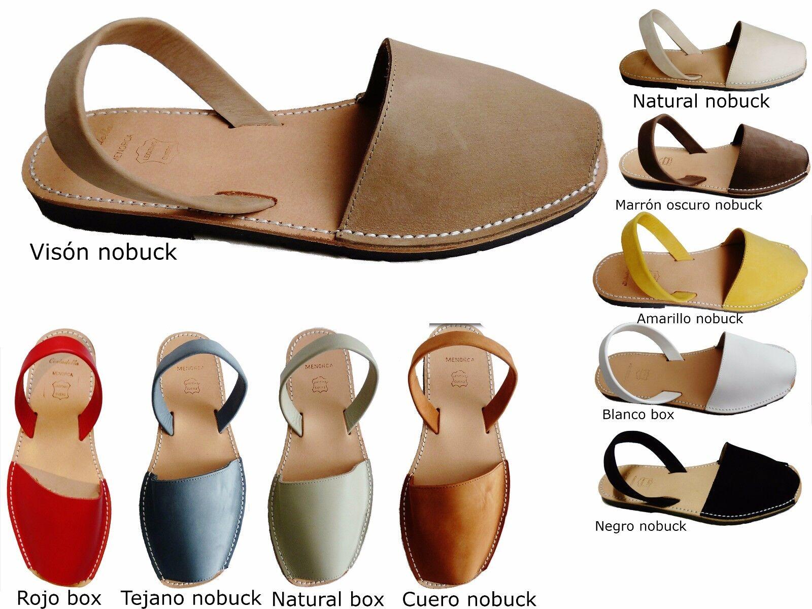 Avarcas menorquinas sizes grandes big, menorcan sandals abarcas sandalias spain