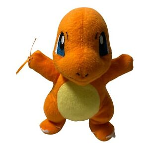 """2016 Authentic Tomy Charmander  Center Plush Toy Doll 8"""""""