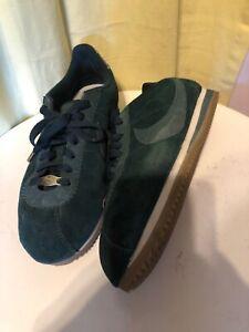 Torneado S t pálido  Zapatillas Nike Cortez'72 agotado para mujeres EE. UU. 8.5 M Blanco y abeto  de medianoche | eBay