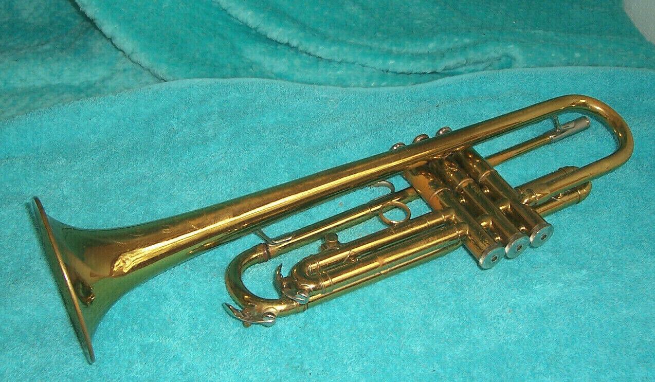 1960 Blessing Standard Trompete gute cond.mit Gehäuse Made in Elkhart Ind. USA