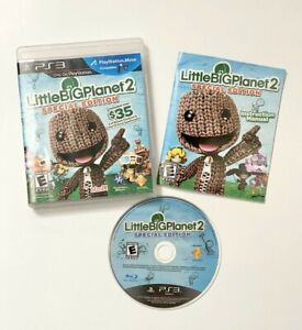 Little-Big-Planet-2-Special-Edition-PlayStation-3-PS3-Complete-with-Booklet-EUC