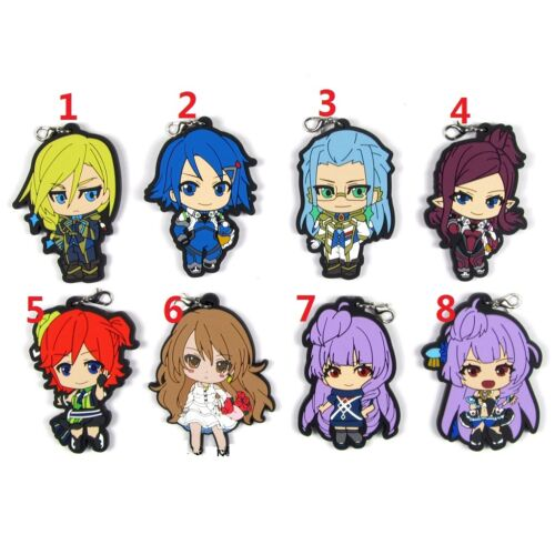 The Super Dimension Fortress Macross DELTA Rubber Strap Charm Keychain Key Ring