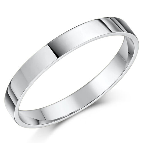 comfort Wedding Rings 3mm 4mm 5mm 6mm Cobalt Flat Court