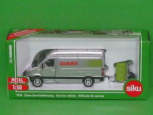 Spielzeugautos SIKU Claas Servicefahrzeug
