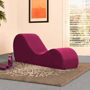 Image Is Loading Soft Sex Couch Loveseat Exotic Sofa Lounge Merlot