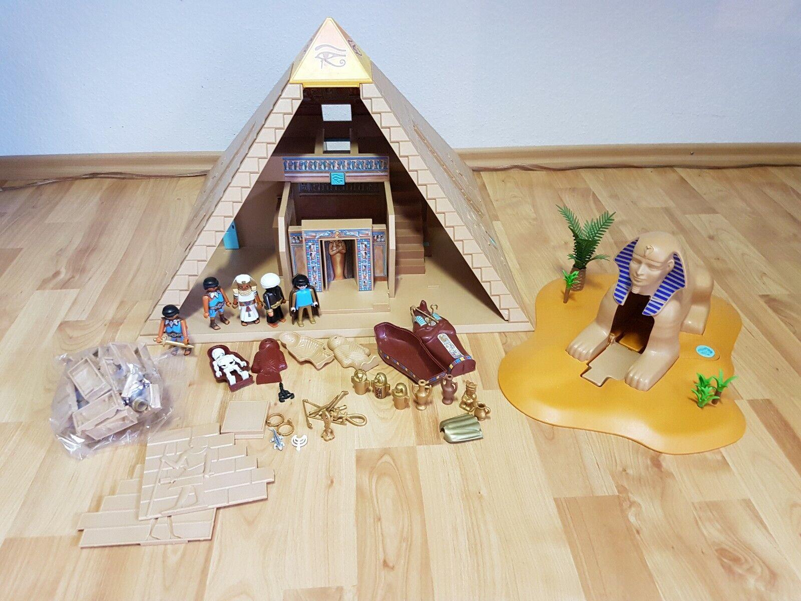 Playmobil Ägypten, Pyramide 4240   TOP