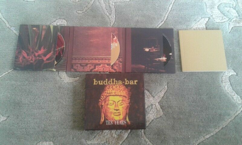 Buddha bar ten years cd for sale