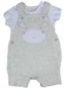 Baby-Unisex-Short-Dungarees-Set-ex-Motherc-e-1-Month-up-to-18-month