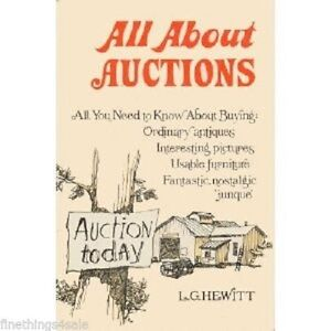 All About Auctions Hardcover L G Hewitt Reference Book Antique Collectors Ebay